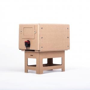Saftbox mit Gestell