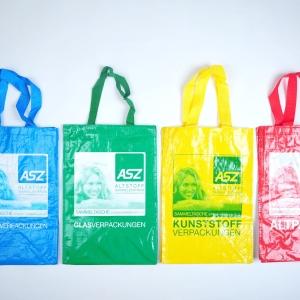 Kunststofftaschen für Mülltrennsystem