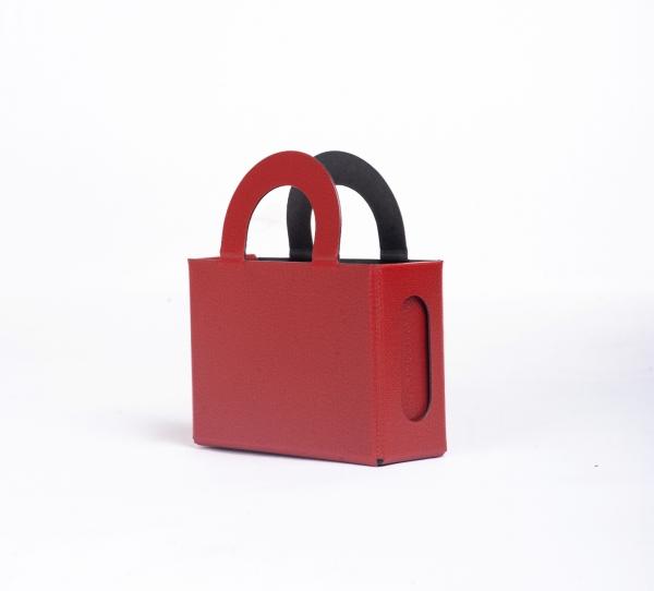 Geschenktasche individuell rot