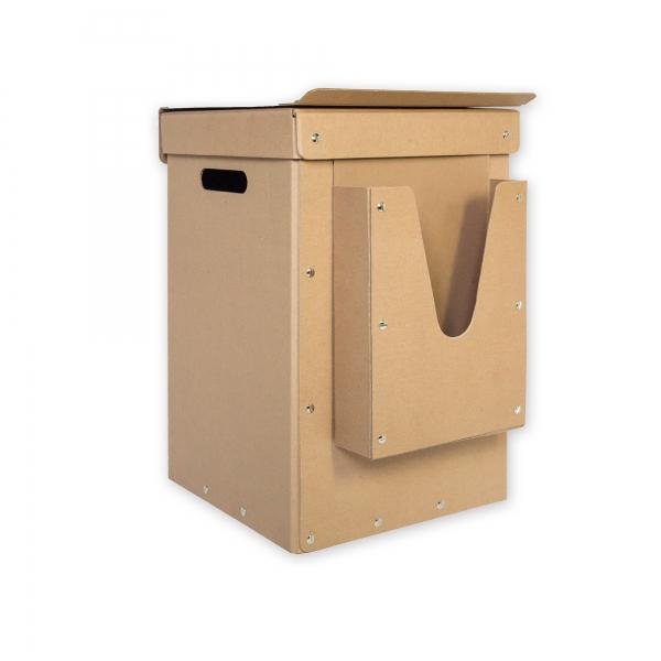 Box für Mülltrennsystem mit Aufbewahrung Müllsäcke